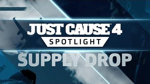 Just Cause 4 SPOTLIGHT Supply Drop