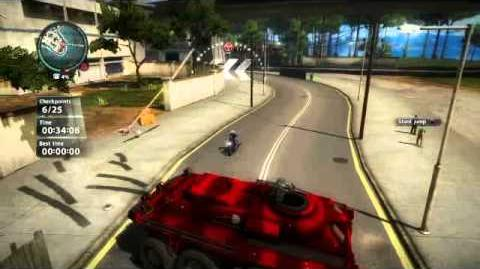 Kicked to the Curb - Just Cause 2