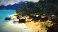 Kampung Nelayan-Nelayan view from outside