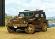 Pugilista SUV (civilian, left front corner, brown)