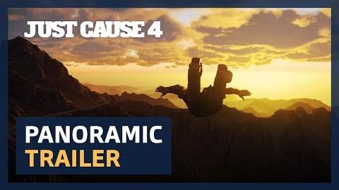 Just Cause 4 Panoramic trailer 4K UltraWide ESRB