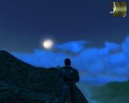 JC1 moon nearest to morning