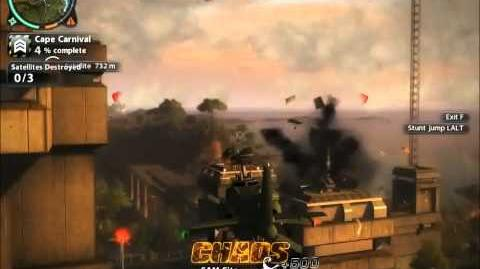 Just Cause 2 Mission Fry me to the Moon (the easy way)