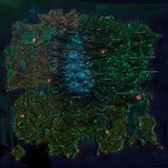 Agency Submarine Map Hotspots overlaid on game map