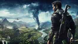 JC4 leaked artwork (mountains, jungle and storm at a city)