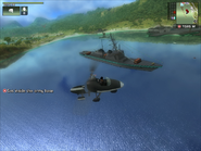 Mendoza's Destroyer Front