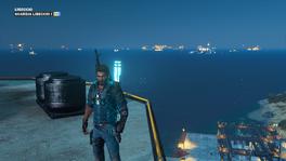 Stingray area lights at night, no DLC, Guardia Libeccio