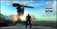 Just Cause 2 development - rocket