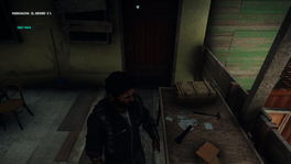 JC4 first mission Miras door and the cards of chaos