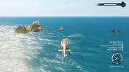 JC4 floating rocks at sea