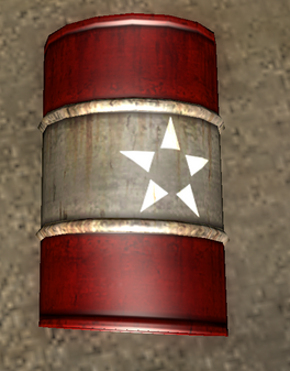 Red barrel in Just Cause 2