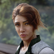 Mira Morales face (eye of the storm trailer)