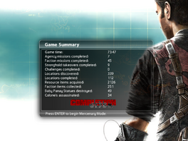 Just Cause 2 Game summary