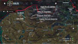 Tallada Map