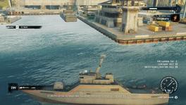 Conquistador Warship (left side)