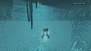The Heist Begins (swim under the door)