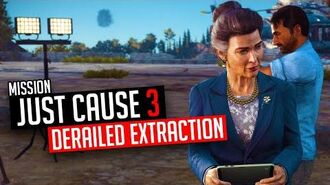 Just Cause 3 Mission Derailed Extraction