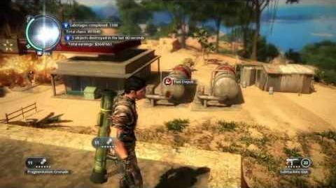 Just Cause 2- settlement completion- Kota Kersik-0