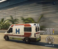 Calzada Ambulancia speeding