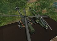 The Guerrilla's versions of -Delta MAH-15 Chimaera- and -Jackson Z-19 Skreemer-