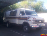 (Real) Chevrolet, model -transvan camper-, year 1970