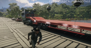 JC4 flatbed semi (side with balloons)