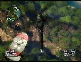 Just Cause 2 - Lifting a Mobile Radar 5