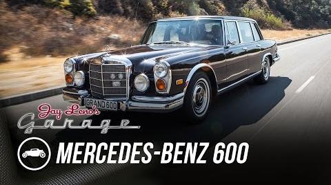 1972 Mercedes-Benz 600 Kompressor - Jay Leno's Garage