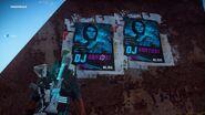 JC3 DJ Santosi posterts at Mile High Club