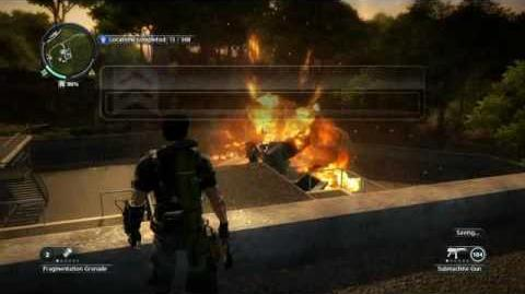 Just Cause 2- settlement completion-Kem Harimau Putih