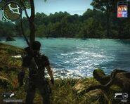 Rajang river and PBC broadcast