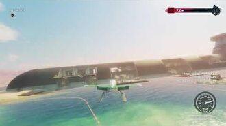 Just Cause 4 Emsavion Floatplane meets USS Conquest