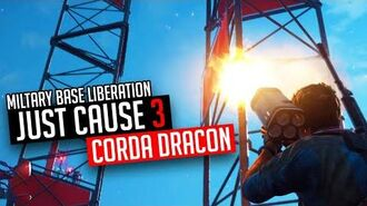 Just Cause 3 Military Base Corda Dracon Liberation