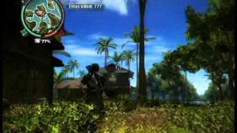 Just Cause 2 - Pekan Lengkong - civilian village