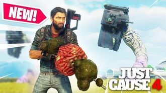 Just Cause 4 - NEW INSANE ALIEN WEAPON!