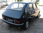 Fiat 127 5 rear