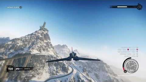 Just Cause 4 micro jet stunt