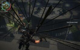 All three Panau Military attack choppers