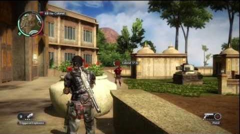 Just Cause 2 - Faction Mission - An Officer and a Hitman