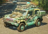 Pugilista SUV (Army of Chaos, left front corner)