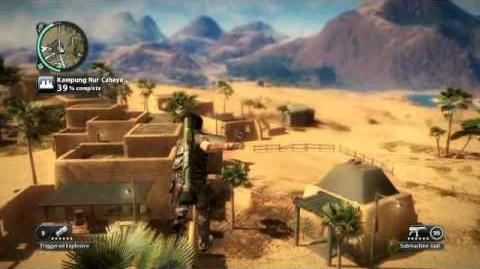 Just Cause 2- settlement completion- Kampung Nur Cahaya