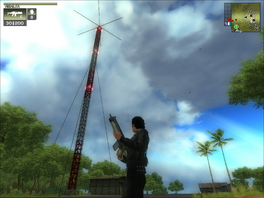 San Esperito Military Radio Mast