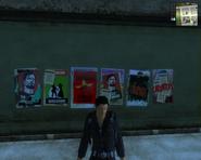 San Esperito posters (guerrilla support 2)