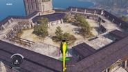 Hive courtyard seen from News Chopper