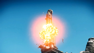 Operation Sandstinger (Illapa tower explodes)