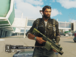 JC4 Cluster Bomb Launcher (held by Rico)