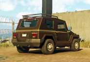 Pugilista SUV (civilian, right rear corner, brown)