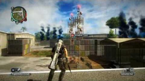 Just Cause 2- settlement completion- Kem Udara Wau Pantas
