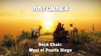 Just Cause 4 - Deck Chair West of Puerto Diego