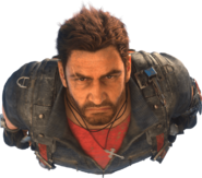 JC3 Rico (face close-up cleared background)